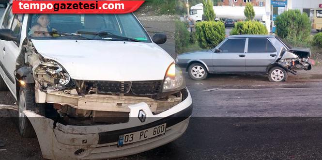 Trafik kazası...