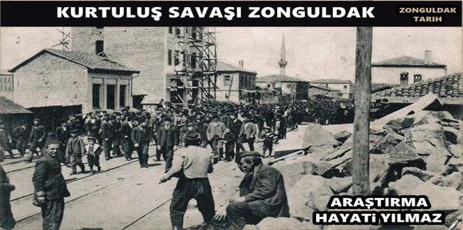 Zonguldak'ın İpsiz Recep, Laz Emin, Dursun Reis gibi delikanlıları Fransız askerleri ile didişiyorlardı...