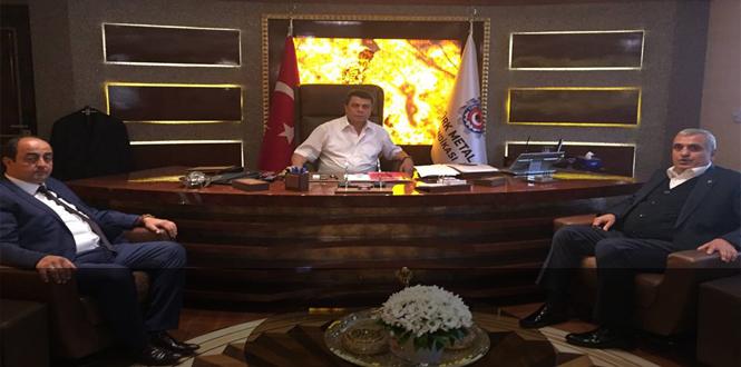 Demirtaş, Genel Başkanı ziyaret etti...