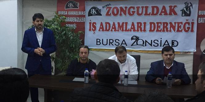 Bursa'daki Zonguldaklı işadamları...