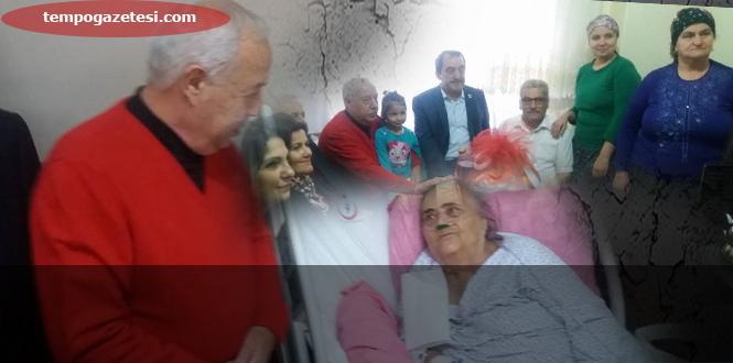 Akdemir, Fakir aileyi ve Hastaları unutmadı!..,