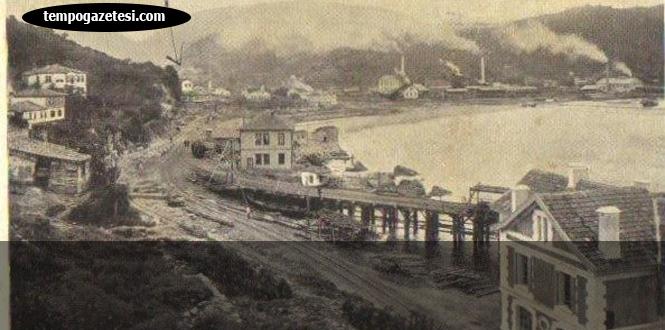 Zonguldak'ın hafızası... 1910 yılından olmalı...