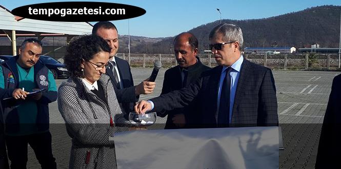Vali Çınar, 214 Manda dağıttı...