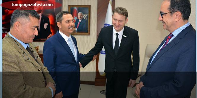 LÖSEV Başkanı Dr. Ezer'den, Başkan Uysal'a Teşekkür