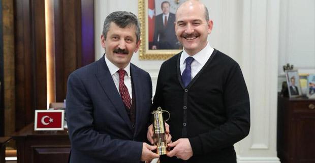 AK Parti teşkilatı Bakan'ı ziyaret etti