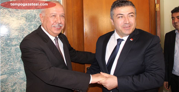 Başoğlu, Akdemir'e iade-i ziyaretinde bulundu