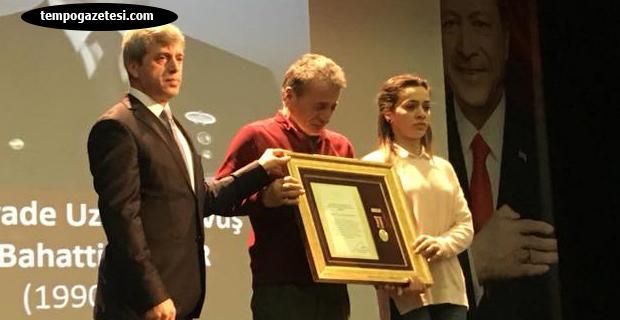 Devlet Övünç Madalyası ve Beratı Tevcih töreni gerçekleşti...