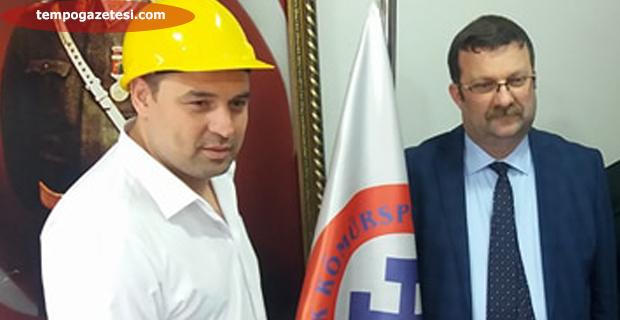 Fatih Akyel, Madenci baretini giydi… İşte ilk açıklaması...