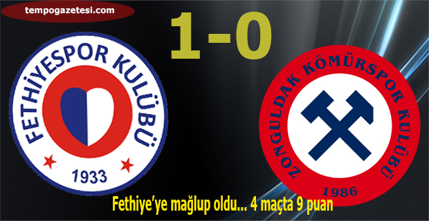 Fethiye'ye mağlup oldu... 4 maçta 9 puan