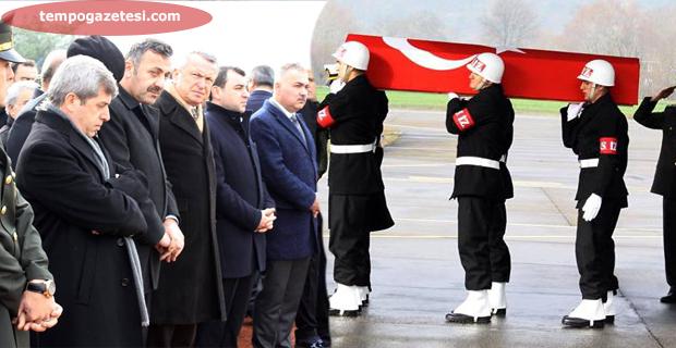 Şehidimiz Zonguldak'ta