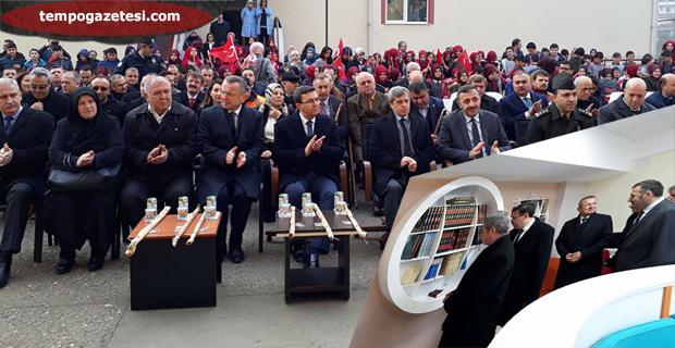 Şehit Polis Çağdaş Arslan Kütüphanesi açıldı