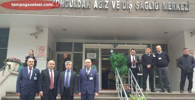 Vali Çınar, Ağız ve Diş Sağlığı Merkezinde...
