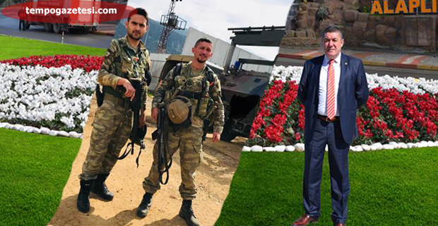 Afrin'den Nuri Tekin'e övgü dolu mesaj..