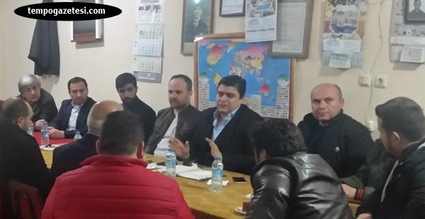 AK Parti Çaycuma köylerinde...