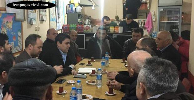 AK Parti, Çaycuma köylerini ikinci kez turluyor...