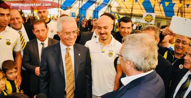Aziz Yıldırım Zonguldak'ta... Aziz Başkan Volkan Demirel nerede!...