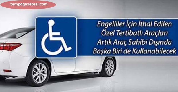 Engelli aracını herkes kullanabilir!...