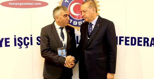 """Erdoğan, """"Maden işçilerinden Allah razı olsun"""""""