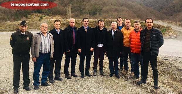 Karayolları Kozlu'da incemeler de bulundu