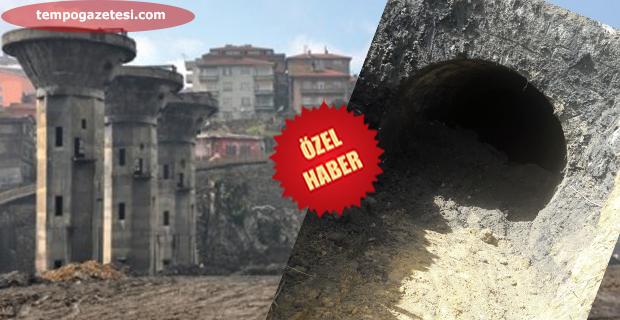 Lavuar alanında gizli tünel çıktı!