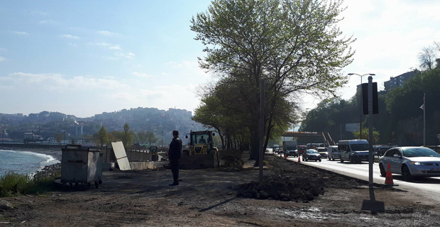 Manolya Park bitmek üzere... Millet nefes alsın...