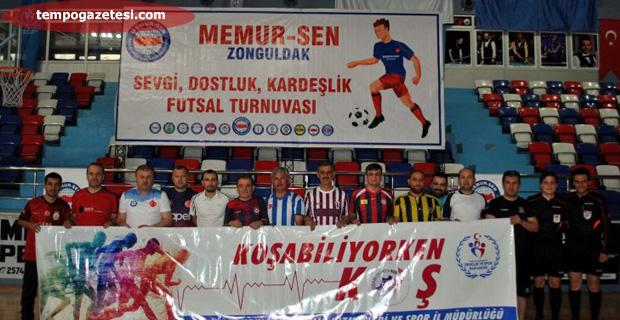 """""""Sevgi, dostluk, kardeşlik"""" Futsal turnuvası…"""