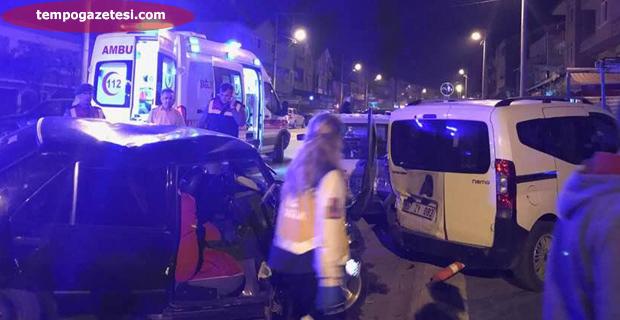Trafik kazasında Alkollü sürücü ölüm saçıyordu!..