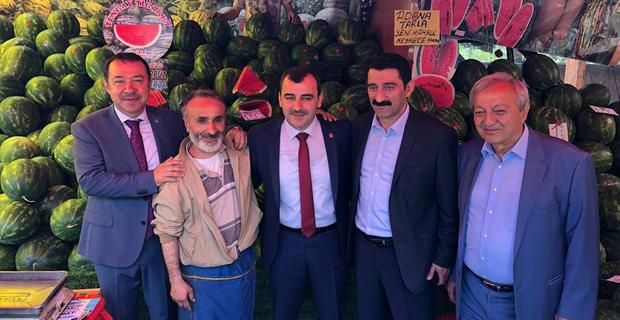 Ahmet Çolakoğlu, Devrek'ten destek istedi...