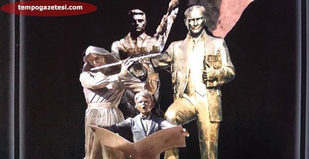 Atatürk'ün heykelini o yaptıracak!..