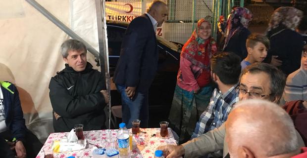 Çınar, Çınartepe'de iftarını açtı...
