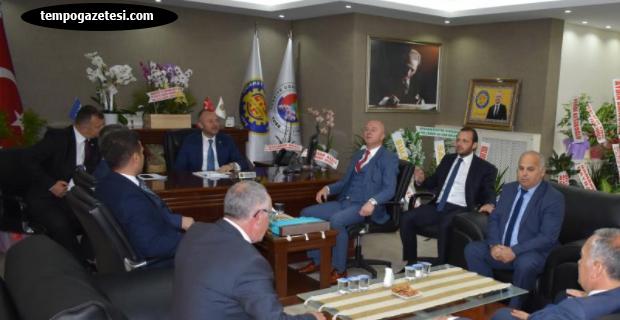Meclis üyelerinden KELEŞ'e ziyaret