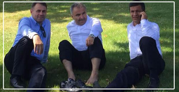 Ayaklara karasular indi, Çınar altında serinlediler...