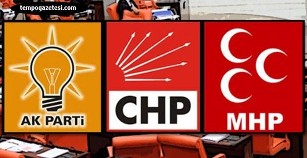 Çaycuma'da Ak Parti, Ereğli'de CHP…