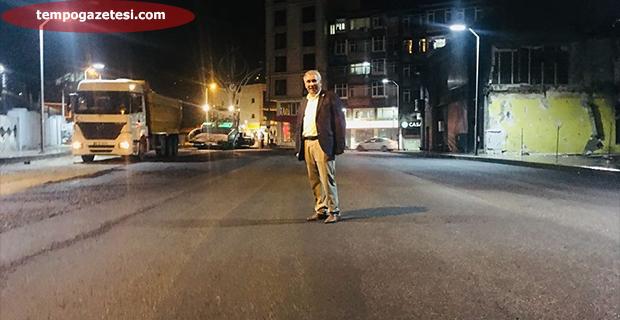 Gece Asfaltta Sabah İhsaniye'de!..