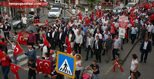 MHP, Ereğli'de şov yaptı!..
