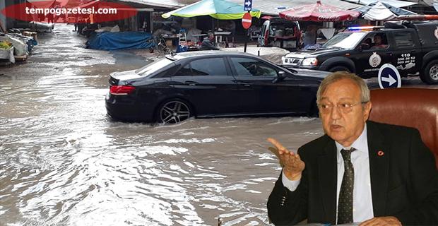 Sevin Semerci, yine sular altında kaldı Devrek!..