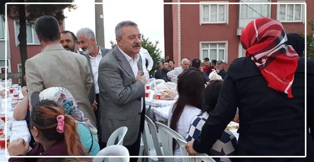 Türkmen, Şehit Madenci adına verilen iftara katıldı...