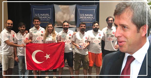 Vali Çınar sponsor oldu, Dünya ikincisi oldular...