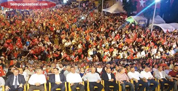 15 Temmuz Milli Birlik ve Demokrasi günü başladı!..