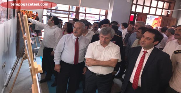 15 Temmuz Milli İrade sergisi açıldı!..