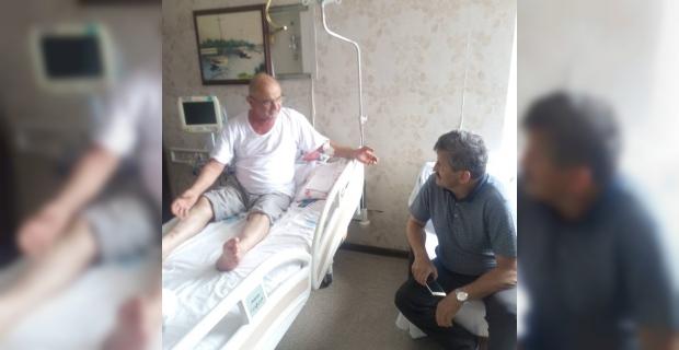 AK Parti Hasta ziyaretinde!..