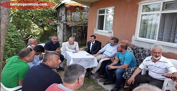 AK Parti'den çok anlamlı ziyaret!..