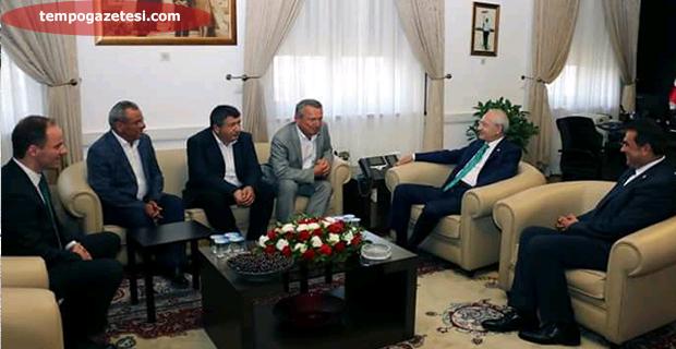 Belediye Başkanları Kılıçdaroğlu'nu ziyaret etti!..
