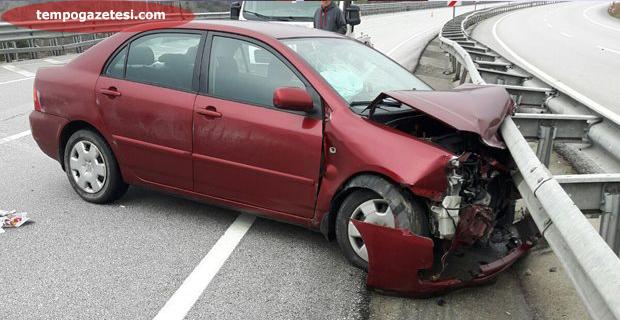 Çaycuma'da kaza; 5 kişi hastanelik oldu!...