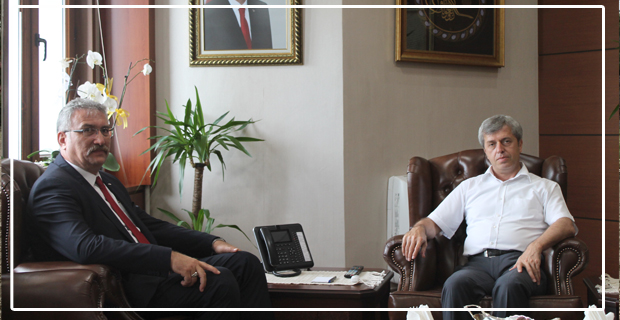 ERDEMİR Genel Müdürü'nden Vali Çınar'a ziyaret...