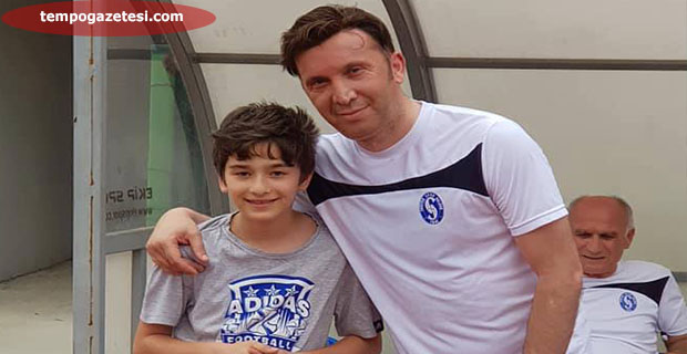 Eski GS'li futbolcu Evren Turan DEVREK'te!..