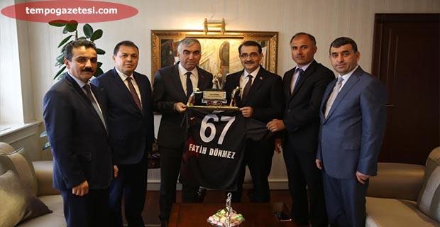 GMİS'den Enerji Bakanına ziyaret…
