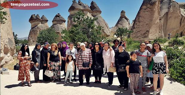 O ilçenin kadınları çok şanslı.. Kapadokya!..