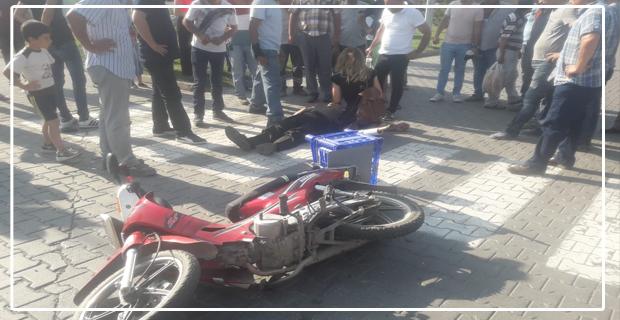 Trafik kazası... Ağır yaralandı...