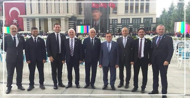 TSO Başkanları, Külliye'de...